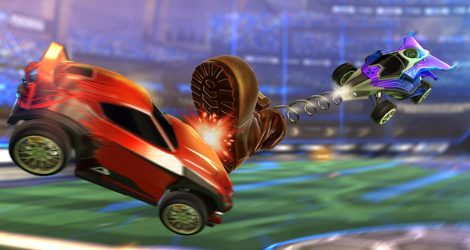Rocket League Rumble фото