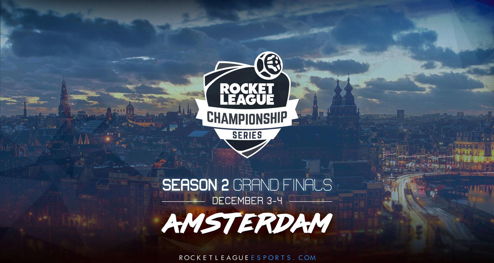 Финал RLCS 2 в Амстердаме