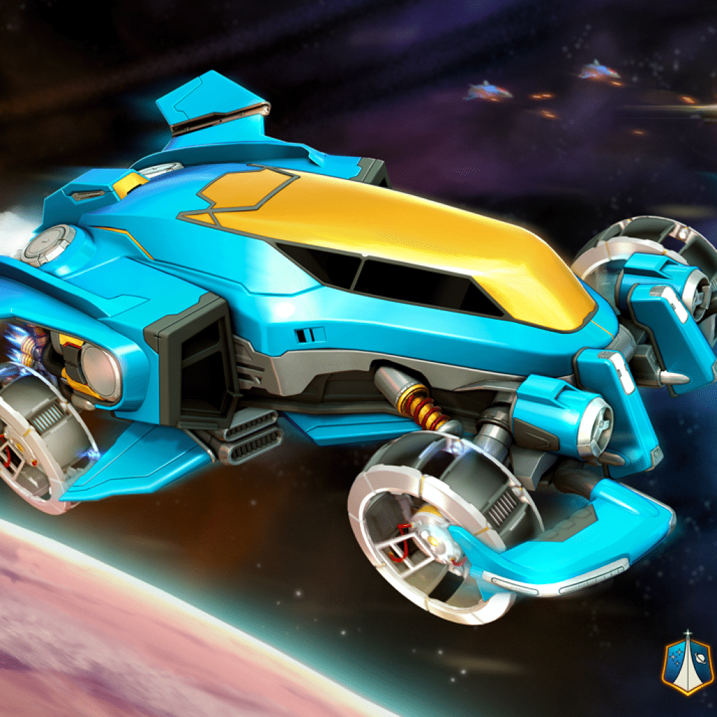 машина Vulсan Rocket League