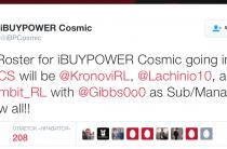 Обновлен состав команды IBP Cosmic.