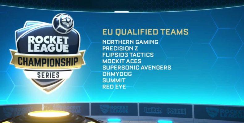 RLCS 2 сезон. Итоги квалификации в EU