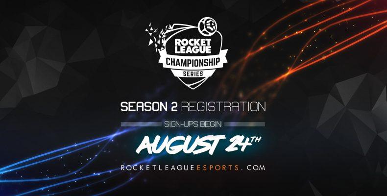 Rocket League Championship Series возвращается 24 августа!