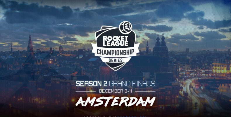 LAN финал Rocket League Championship Series 2 пройдет в Европе