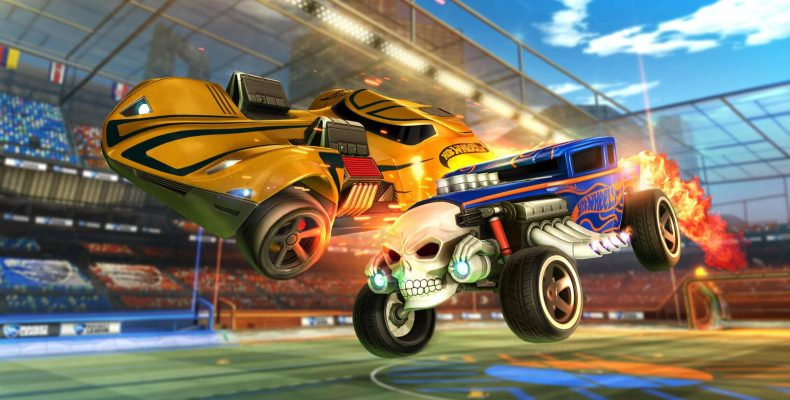 Новое DLC Hot Wheels для Rocket League 21 февраля
