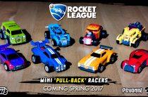 Игрушечные модели Rocket League — весной 2017