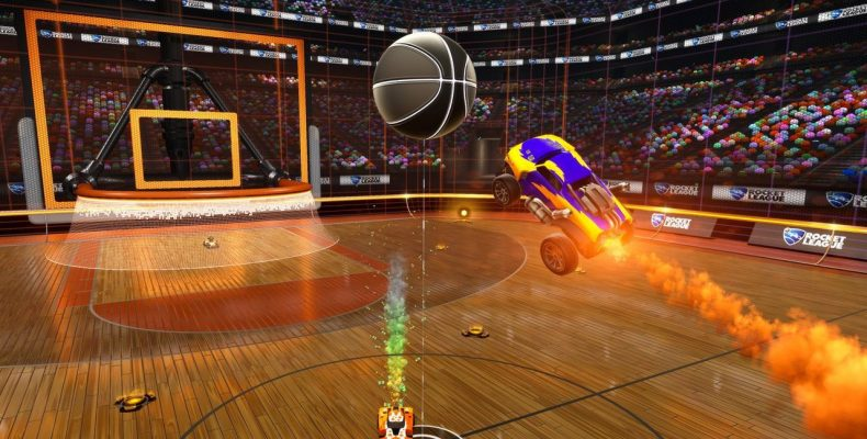 Баскетбол в Rocket League с 26 апреля!