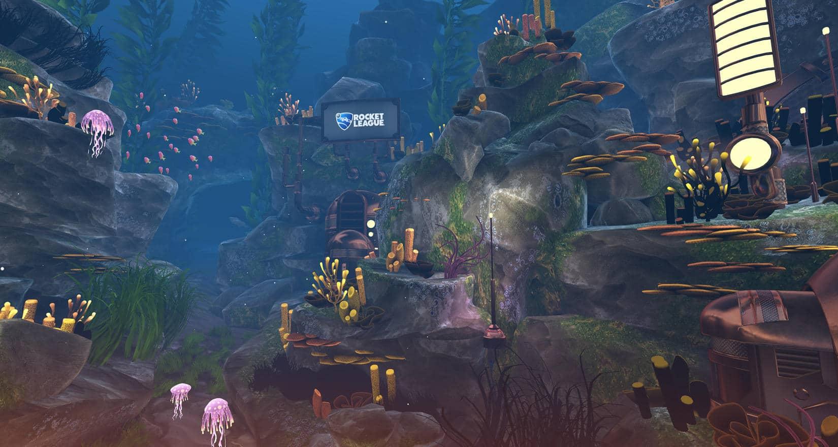 Обновление Rocket League Aquadome v1.24 Доступно